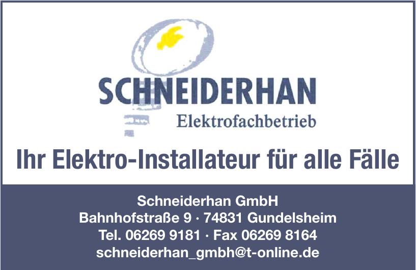 Schneiderhan GmbH