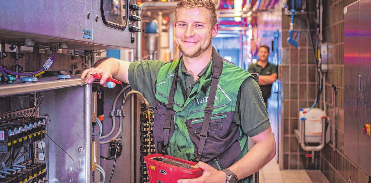 Für den Beruf des Elektronikers sollte man Interesse und Spaß an Physik mitbringen. FOTO: DJD