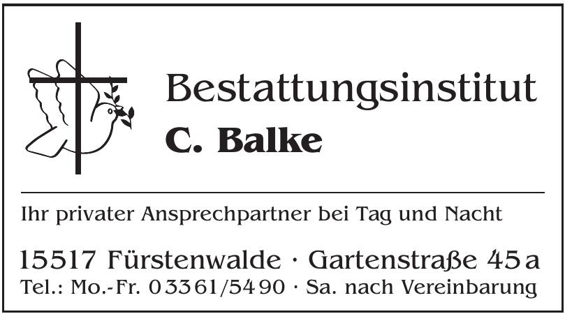 Bestattungsinstitut C. Balke