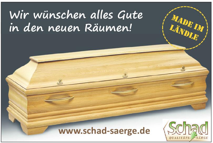Schad GmbH-Sargfabrik