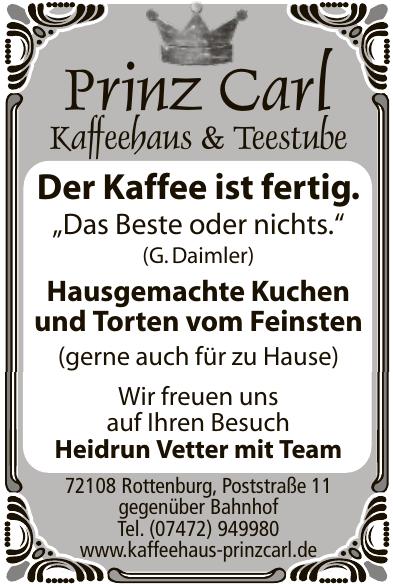 Prinz Carl Kaffehaus & Teestube