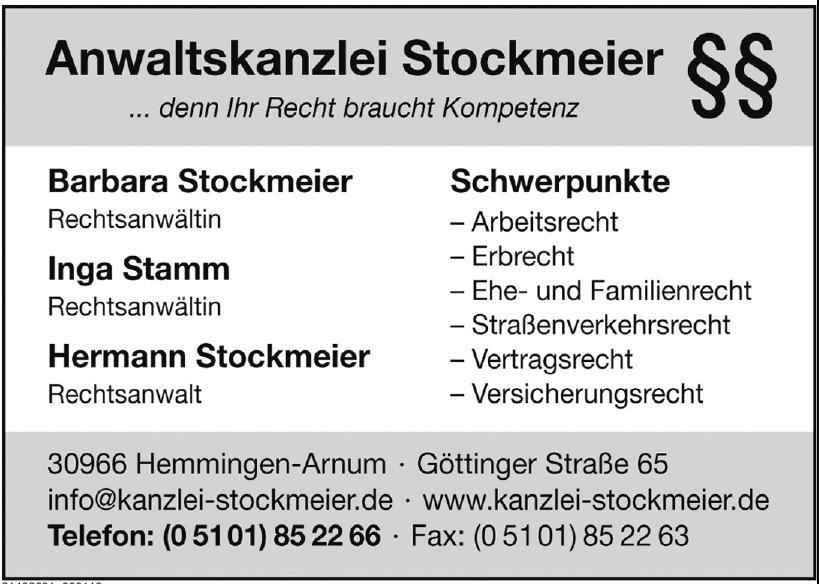 Anwaltskanzlei Stockmeier