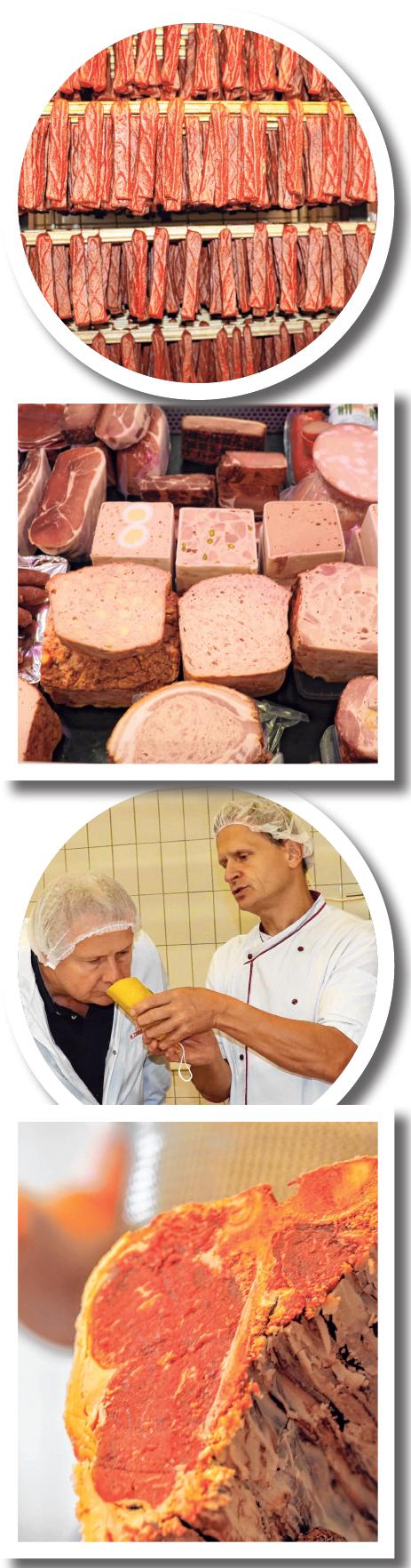 Impressionen der Vielseitigkeit des Metzger-Handwerks. FOTOS:INNUNGSBETRIEBE / LANER