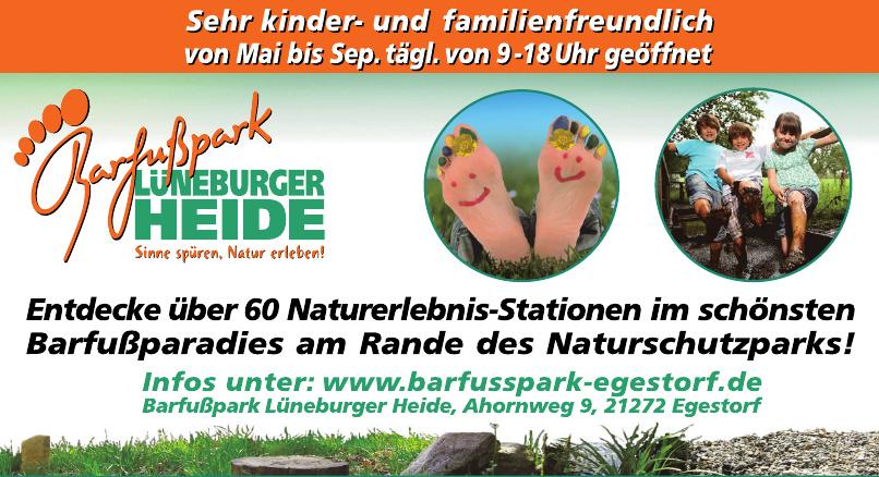 Barfußpark Lünenburgerheide