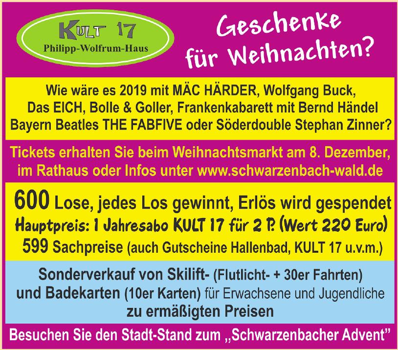 Stadt Schwarzenbach a. Wald