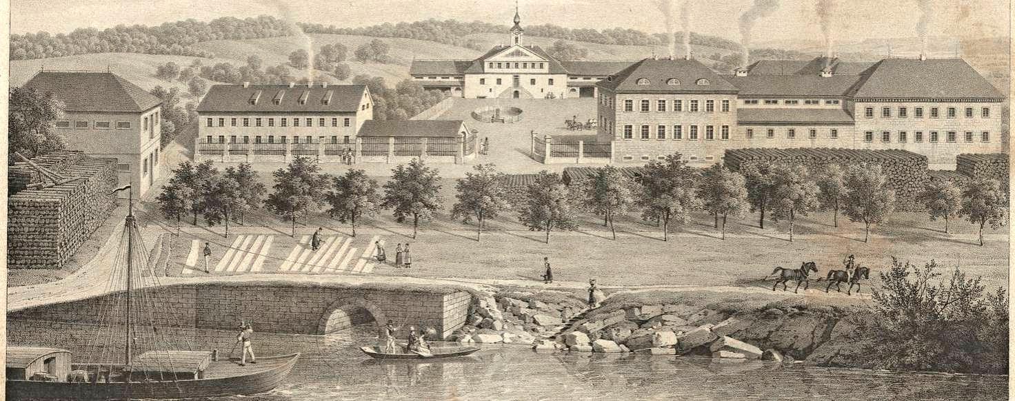 Dank der Saline Clemenshall wurde im 19. Jahrhundert aus Offenau Bad Offenau. Fotos: leo.bw/privat