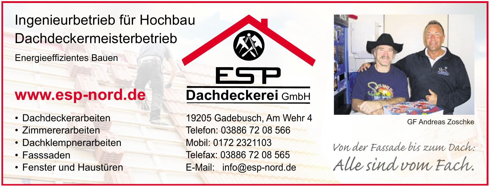ESP Dachdeckerei GmbH