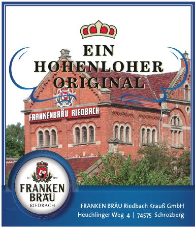 Franken Bräu Riedbach Krauβ GmbH