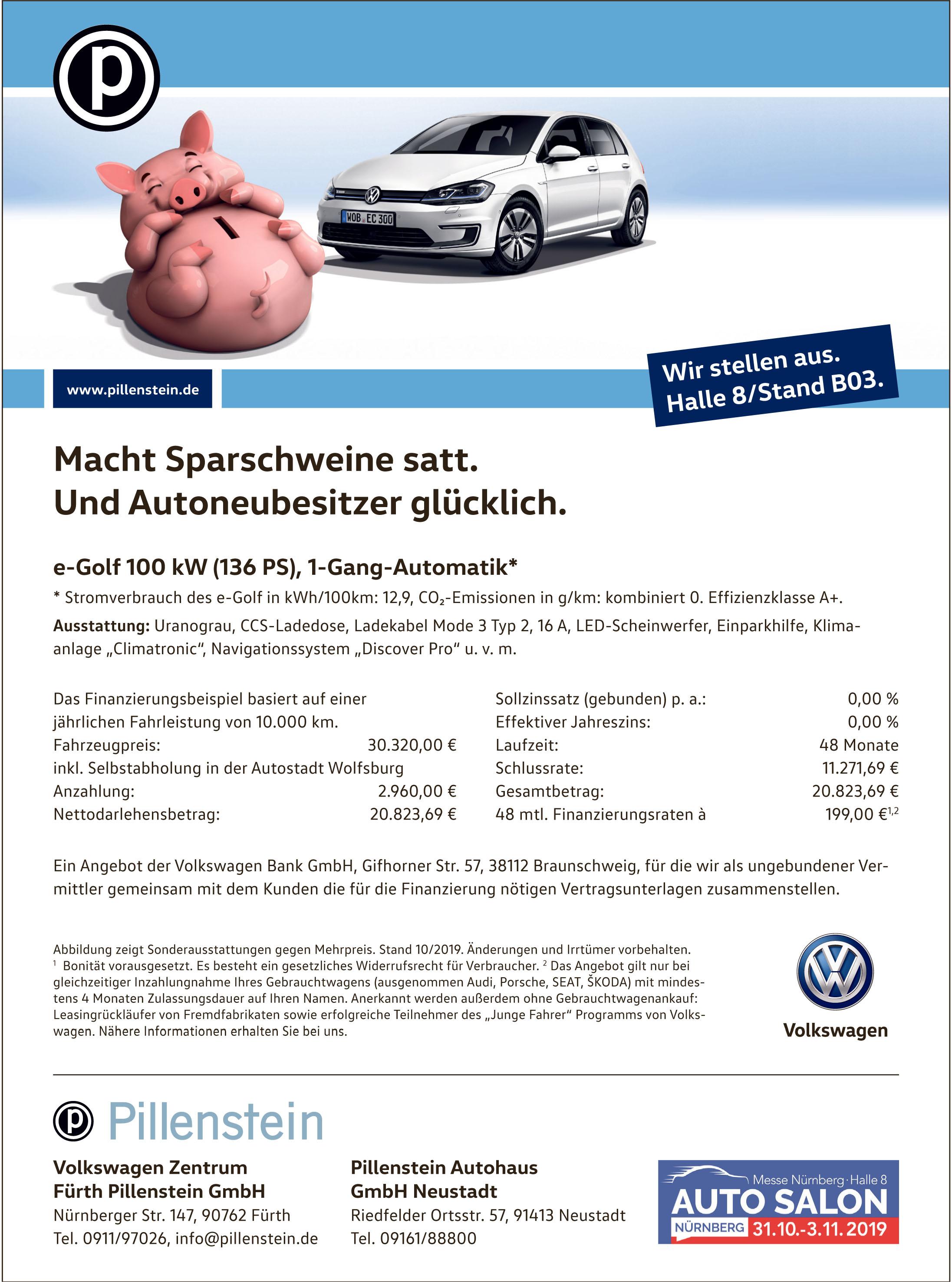 Volkswagen Zentrum Fürth Pillenstein GmbH