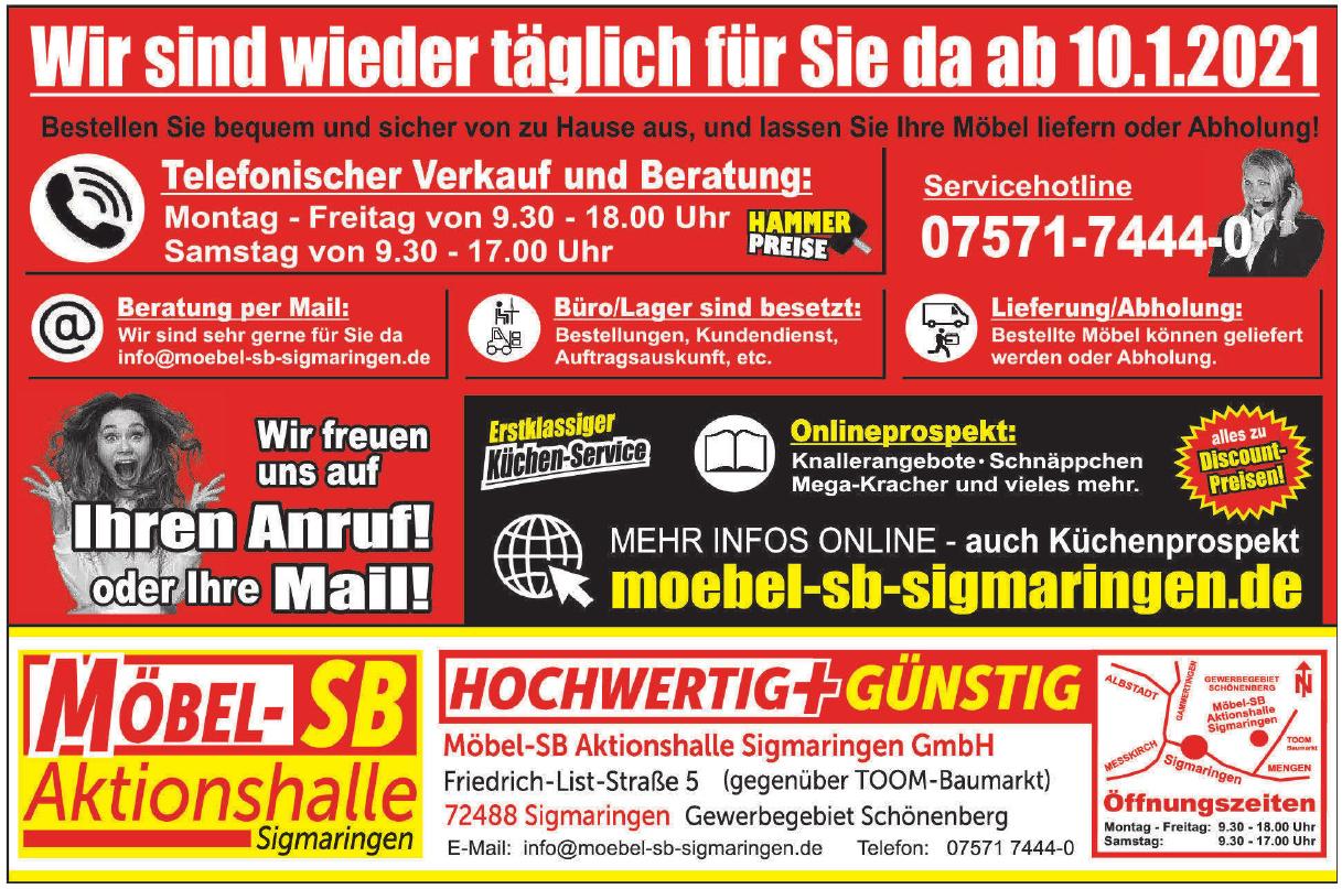 Möbel-SB Aktionshalle GmbH