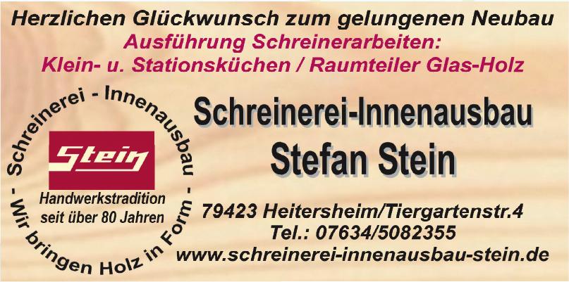 Schreinerei Innenausbau Stefan Stein