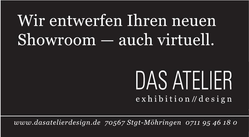 Das Atelier exhibition // design