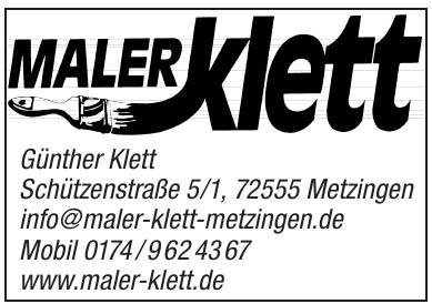 Maler Klett