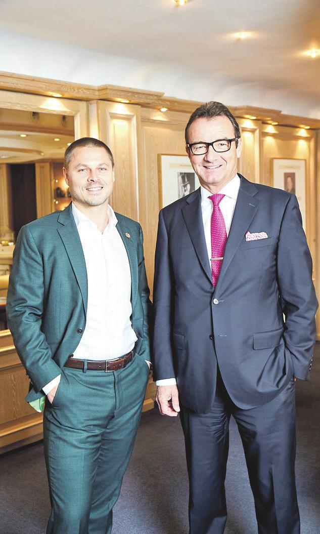 Korbinian Fridrich und Stephan Lindner