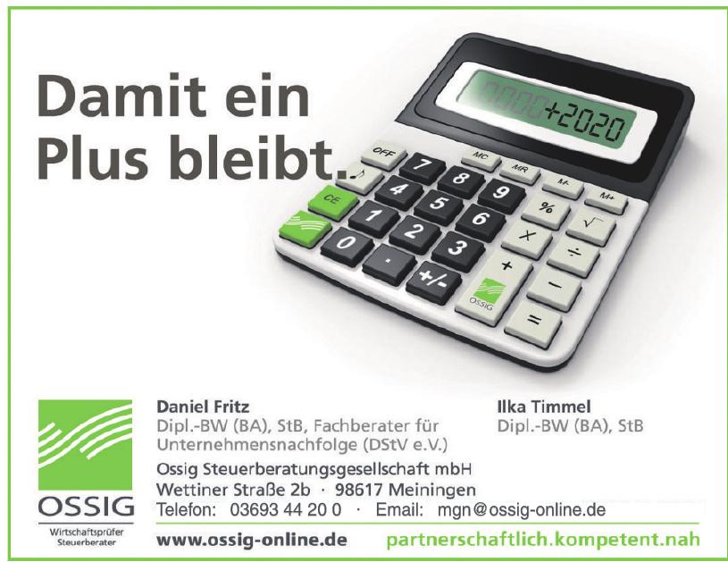 Ossig Steuerberatungsgesellschaft mbH