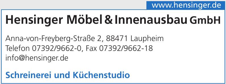 Hensinger Möbel & Innenausbau GmbH
