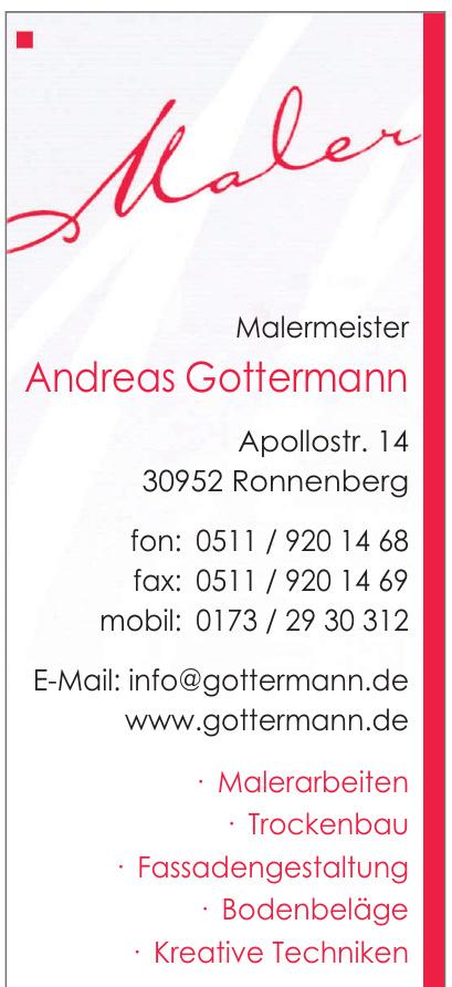 Malermeister Andreas Gottermann