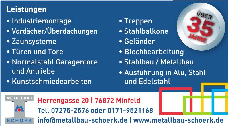 Metallbau Schörk