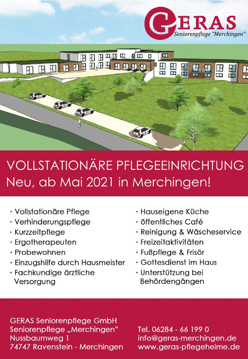 GERAS Seniorenpflege GmbH - Seniorenpflege Merchingen