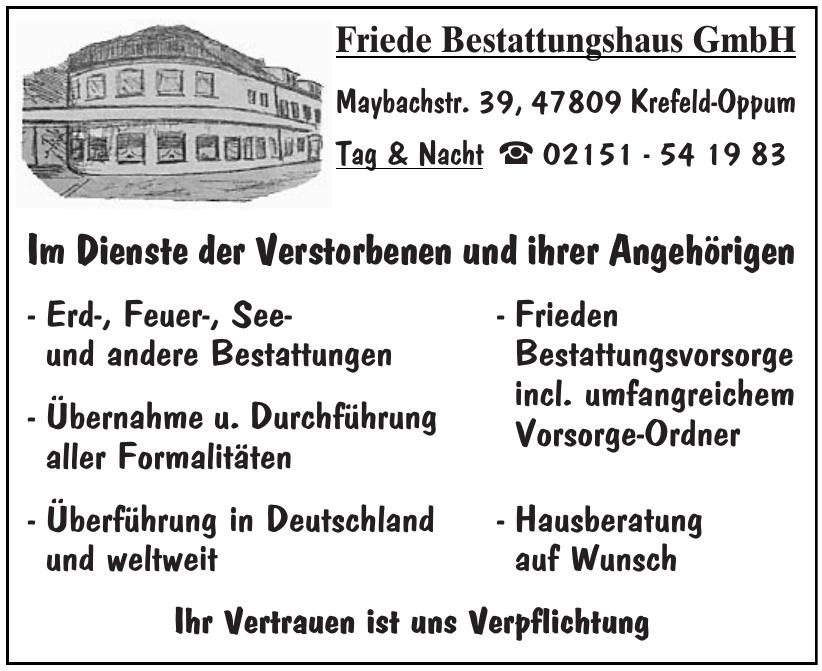 Friede Bestattungshaus GmbH