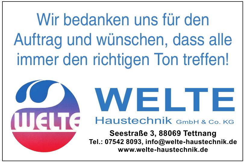 Welte Haustechnik GmbH & Co. KG