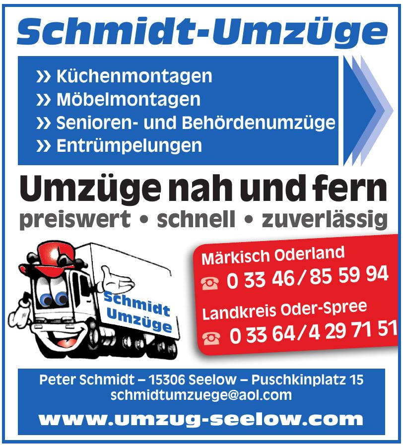 Schmidt-Umzüge Peter Schmidt