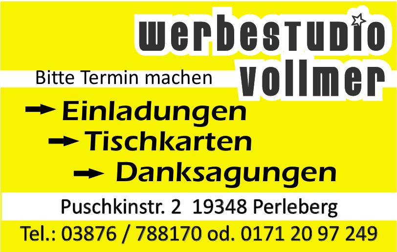 Werbestudio Vollmer