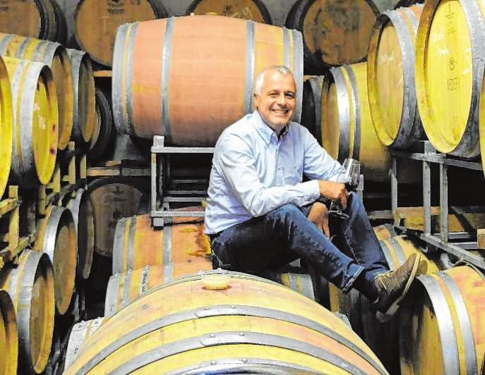 Joachim Wegner legt Wert auf charakterstarke Weine mit den Eigenarten der Region, des Terroirs und der Rebsorte. Bild: Wegner