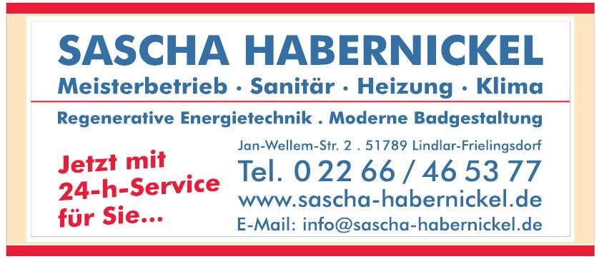 Sascha Habernickel