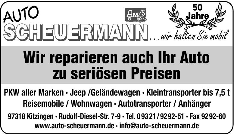 Auto Scheuermann e.K.