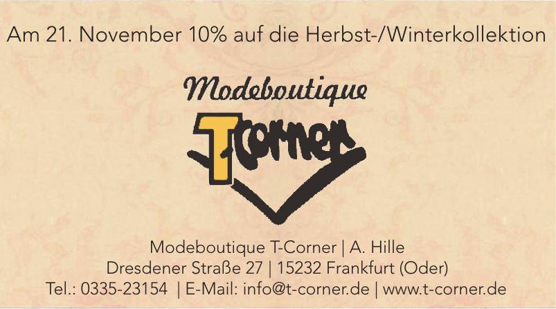 Modeboutique T-Corner