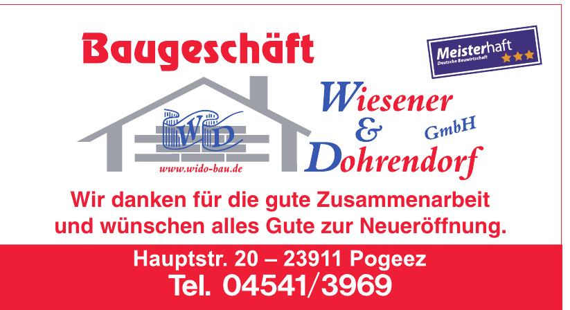 Baugeschäft Wiesener & Dohrendorf GmbH