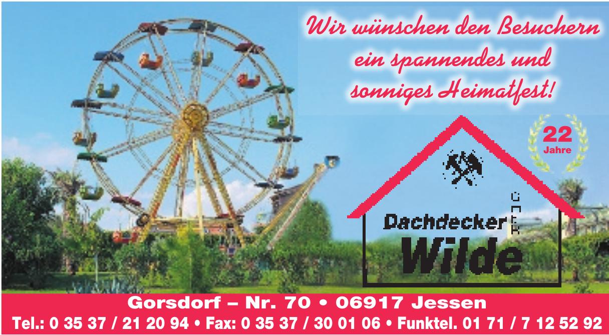 Dachdecker Wilde GmbH