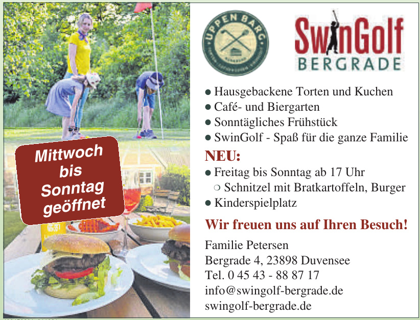 SwinGolf Bergrade