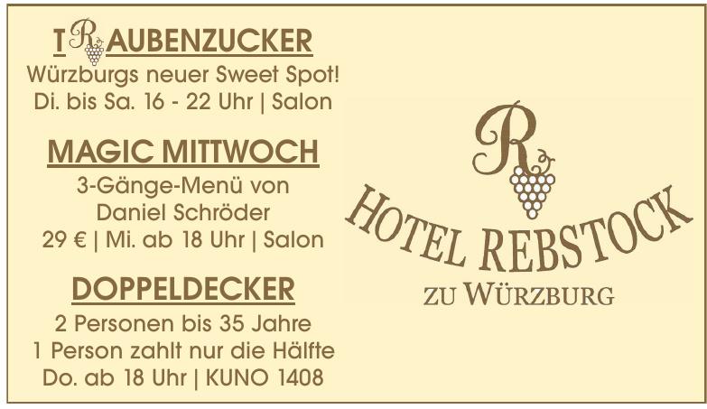 Hotel Rebstock zu Würzburg