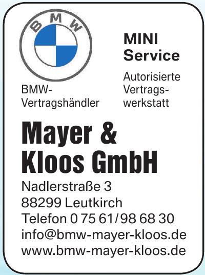 Autohaus Mayer & Kloos GmbH