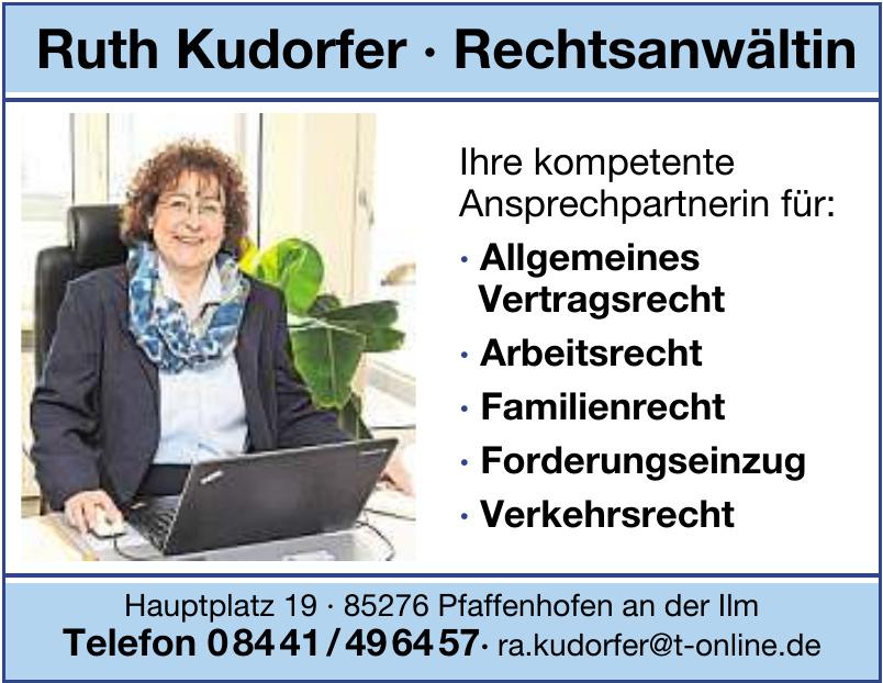 Rechtsanwältin Ruth Kudorfer
