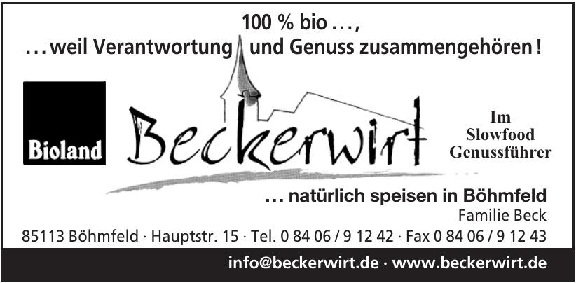 Beckerwirt