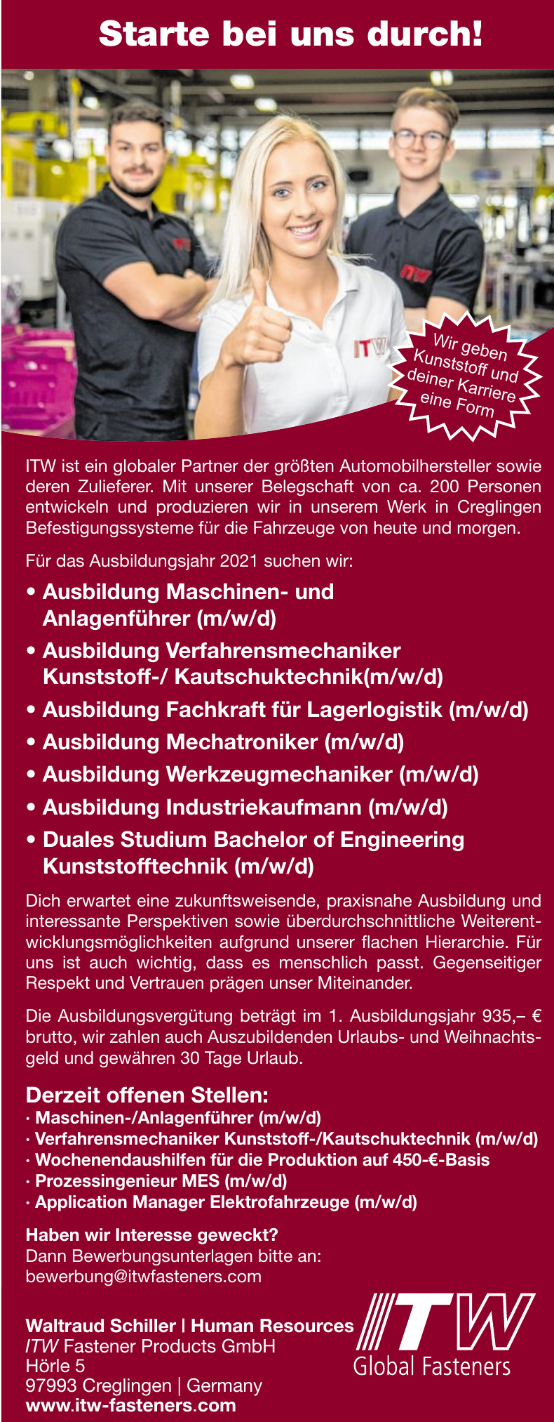 ITW Fasteners Products GmbH