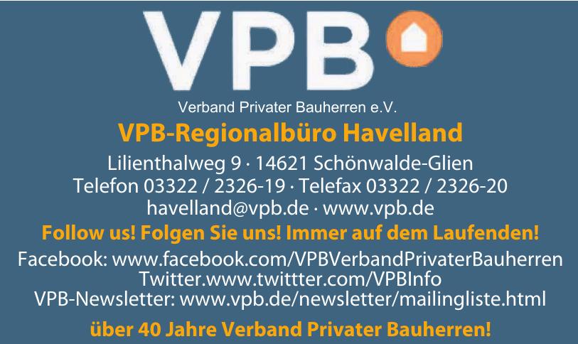 VPB Verband Privater Bauherren e.V.