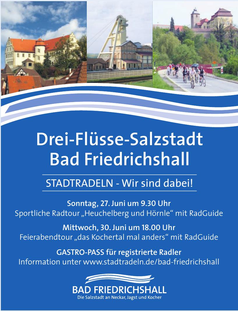 Drei-Flüsse-Salzstadt - Bad Friedrichshall