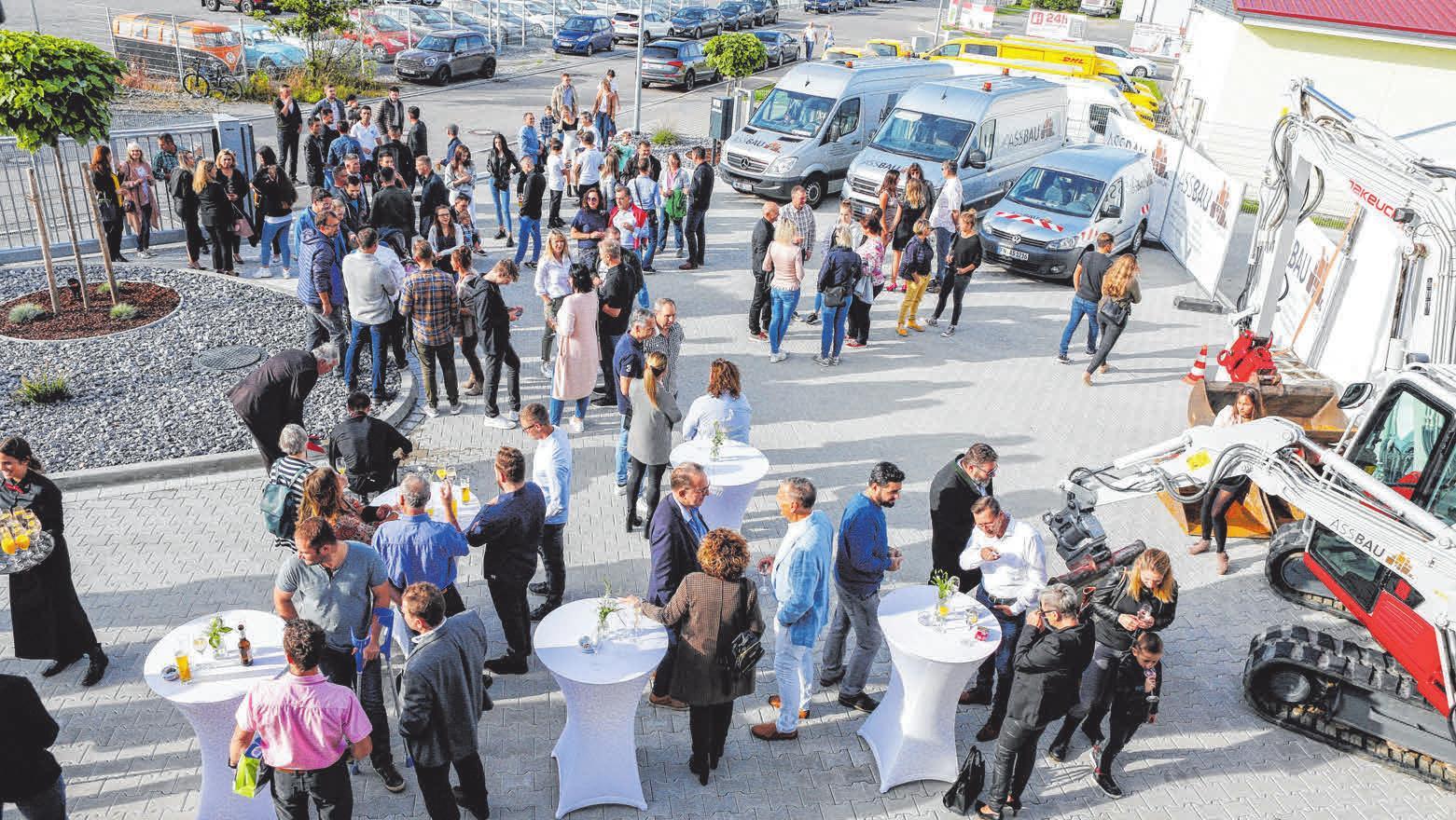 Knapp 400 Gäste folgten der Einladung von ASSBAU. FOTO: OLAF RUTSCHEK