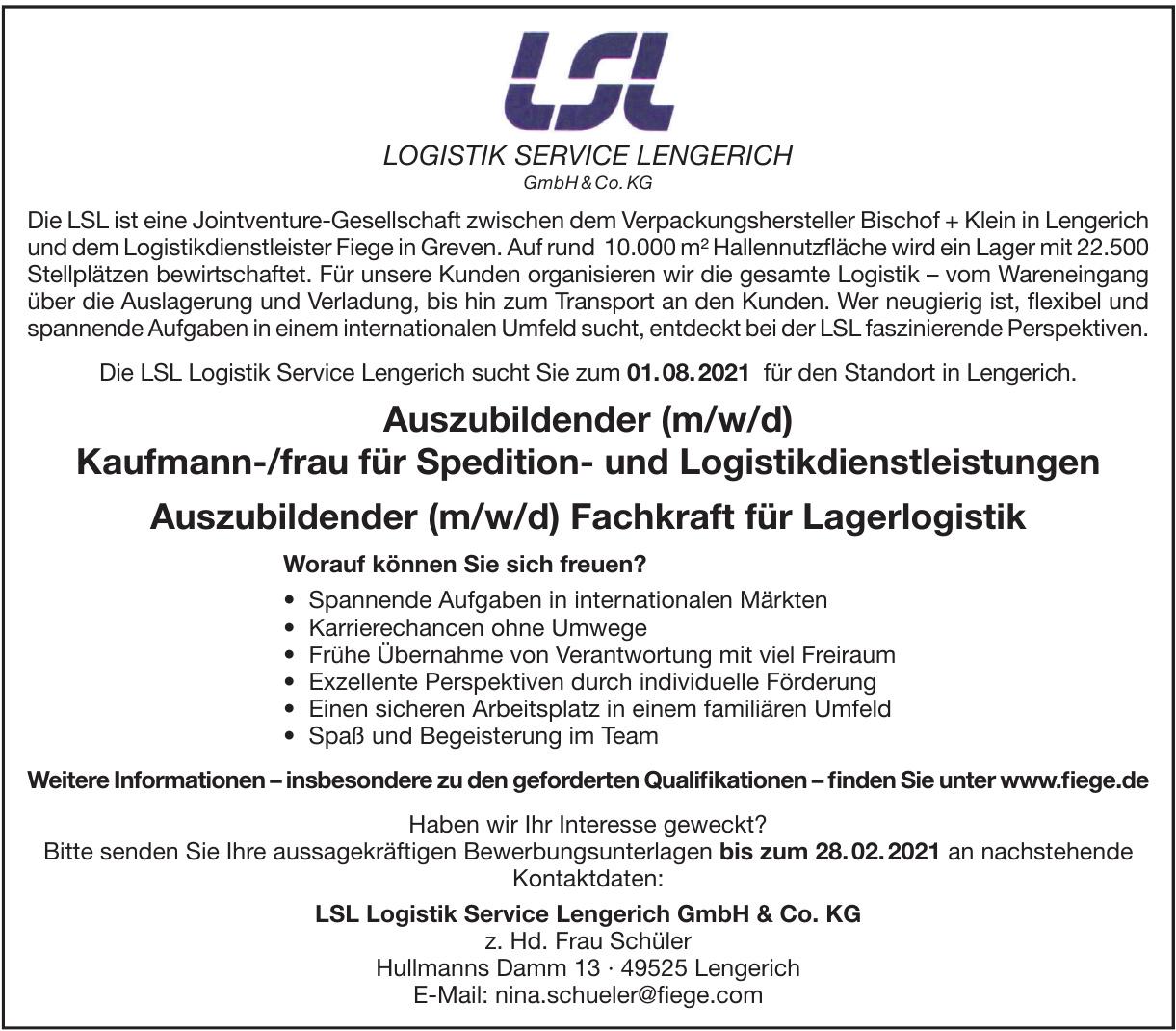 LSL Logistik Service Lengerich GmbH & Co. KG