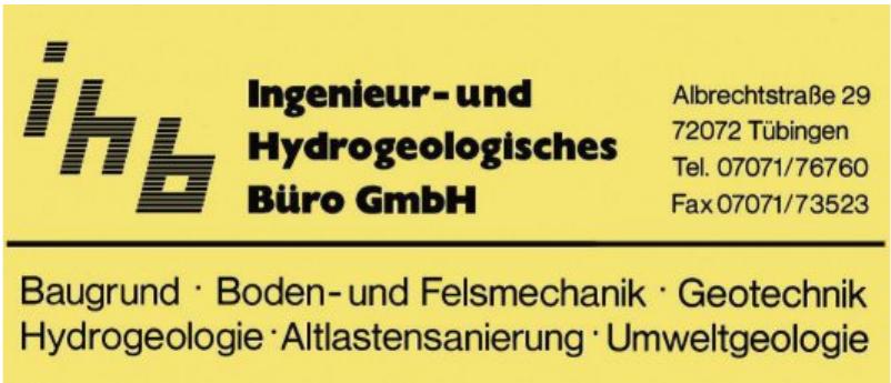 Ingenieur- und Hydrogeologisches Büro GmbH