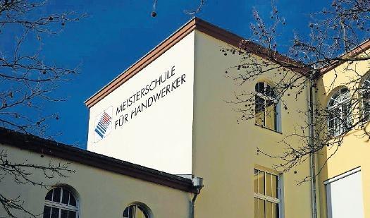 """Öffnet am""""Tag der Ausbildung"""" ihre Werkstätten: die Meisterschule für Handwerker. FOTO:MHK/FRE"""