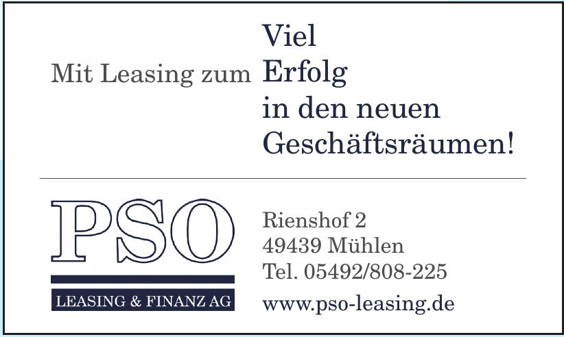 PSO Leasing & Finanz AG