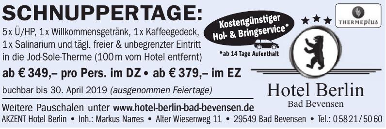 Hotel Berlin Bad Bevensen