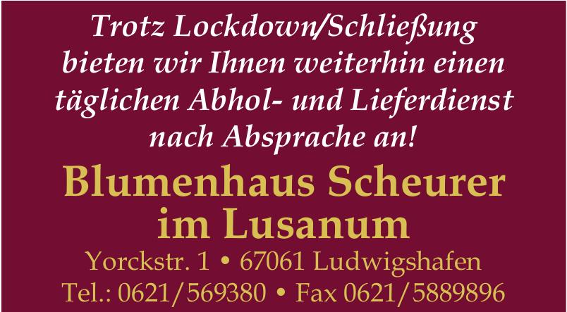 Blumenhaus Scheurer im Lusanum