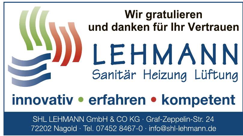 SHL Lehmann GmbH und Co KG