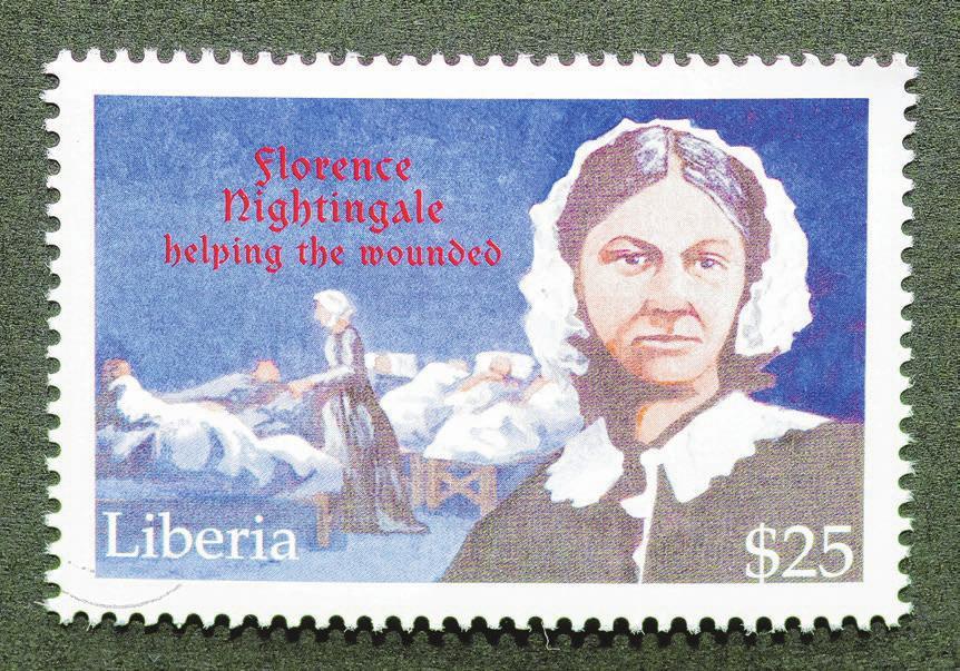 Eine Pionierin der Krankenpflege. © catwalker/shutterstock.com